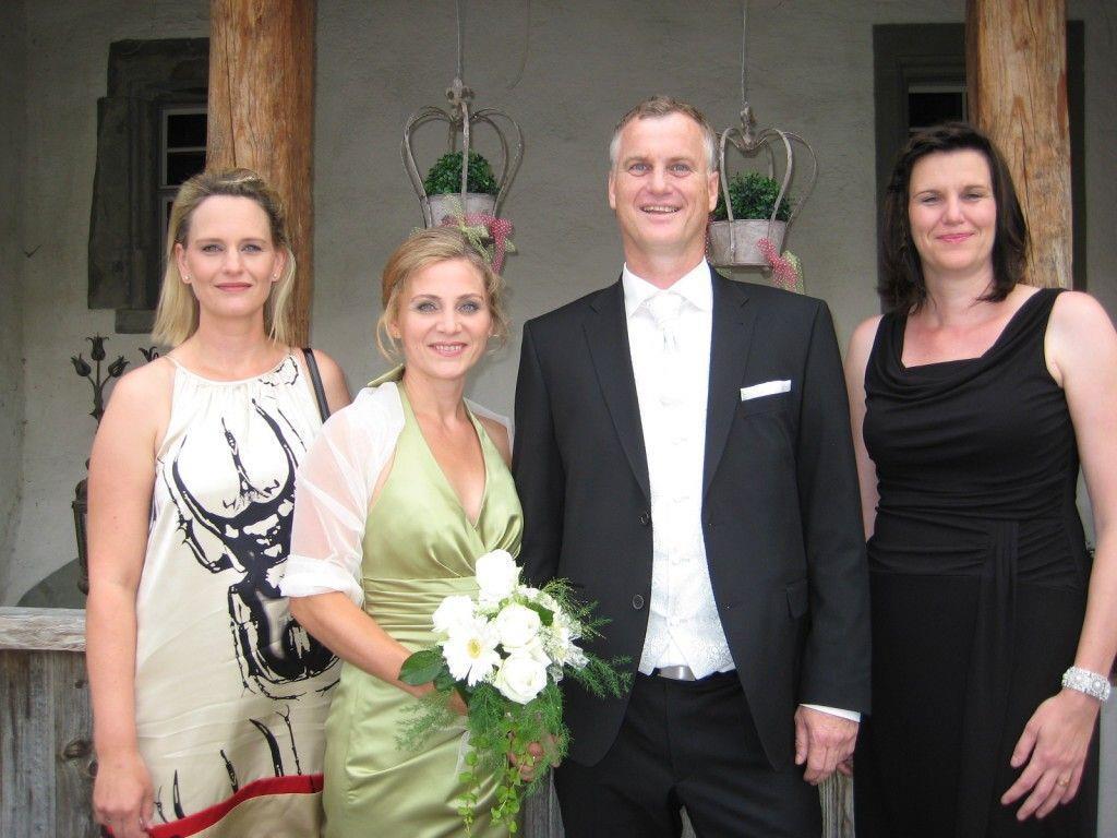 Christine Ganahl und Günter Kerber haben geheiratet.