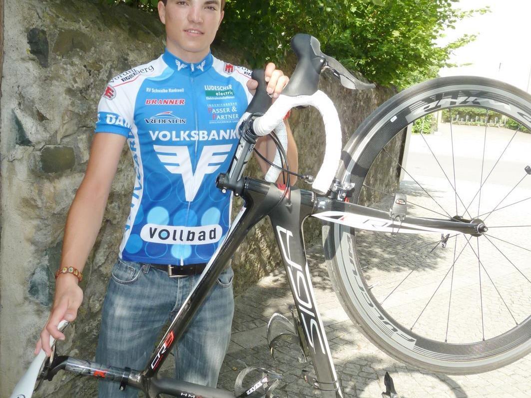 Tobias Wauch bestreitet ab kommenden Donnerstag die Junioren Bahn-EM in Portugal.