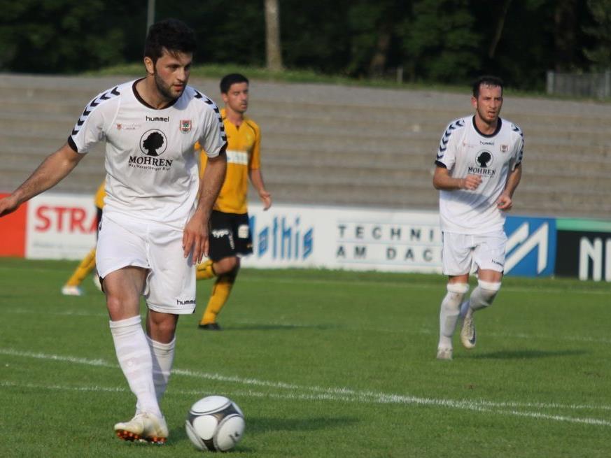 Sercan Altuntas erzielte in der Verlängerung das Siegtor für FC Dornbirn.