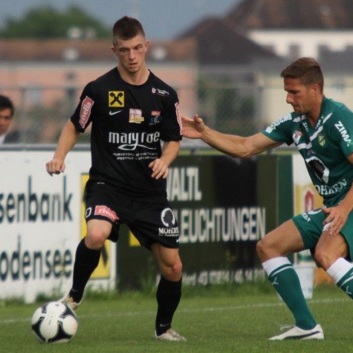 Franco Joppi und SC Bregenz will Favorit Kapfenberg biegen.
