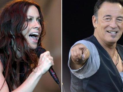 Alanis Morissette und Bruce Springsteen gastieren in Wien.