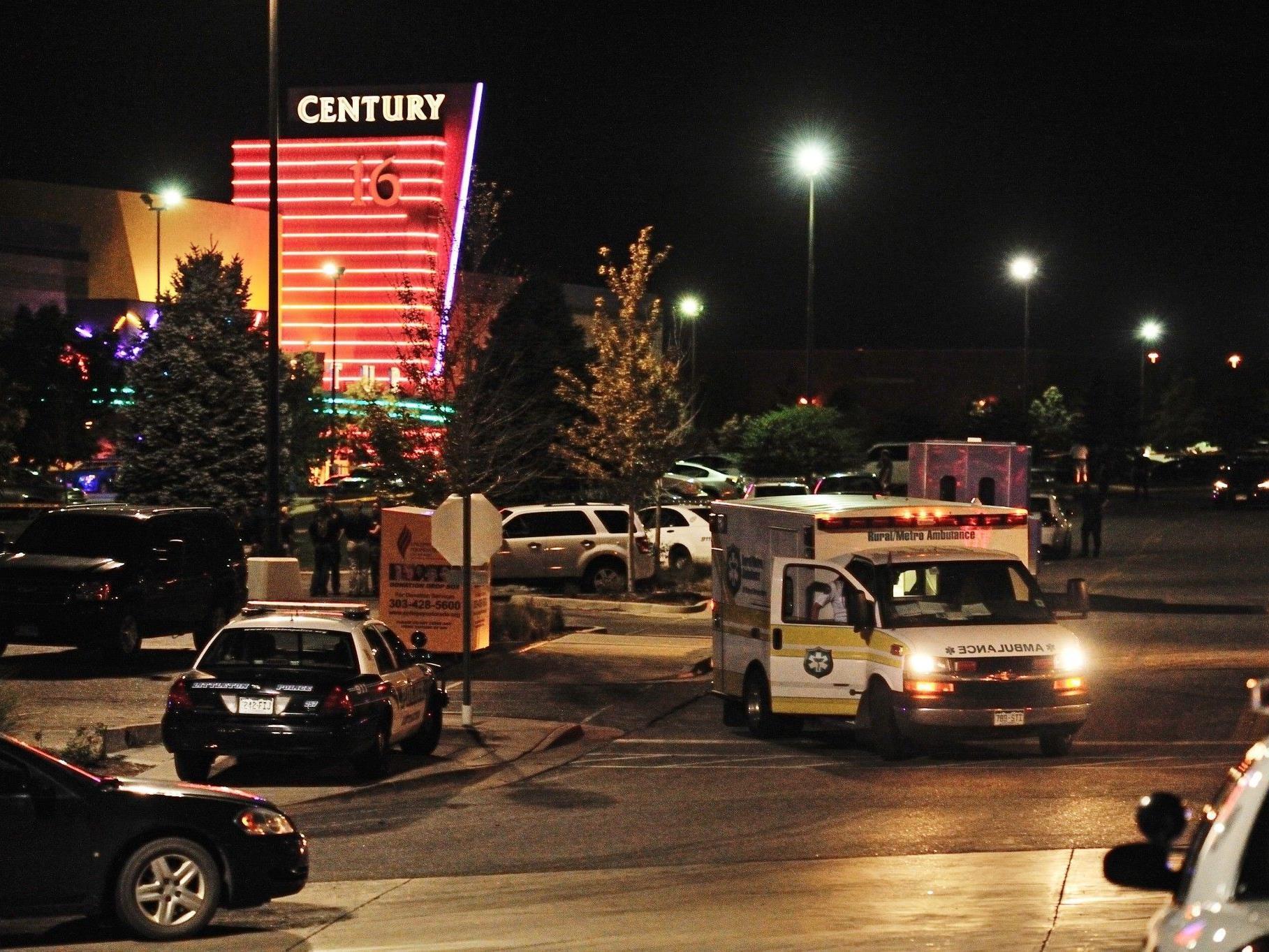 """Schießerei beim """"Batman""""-Premiere in US-Kino forderte viele Tote und dutzende Verletzte."""