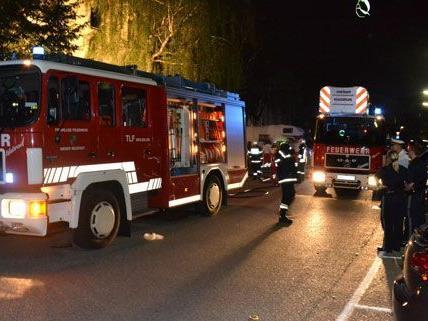 Die Feuerwehr war in Wiener Neustadt mit 30 Mann im Einsatz.