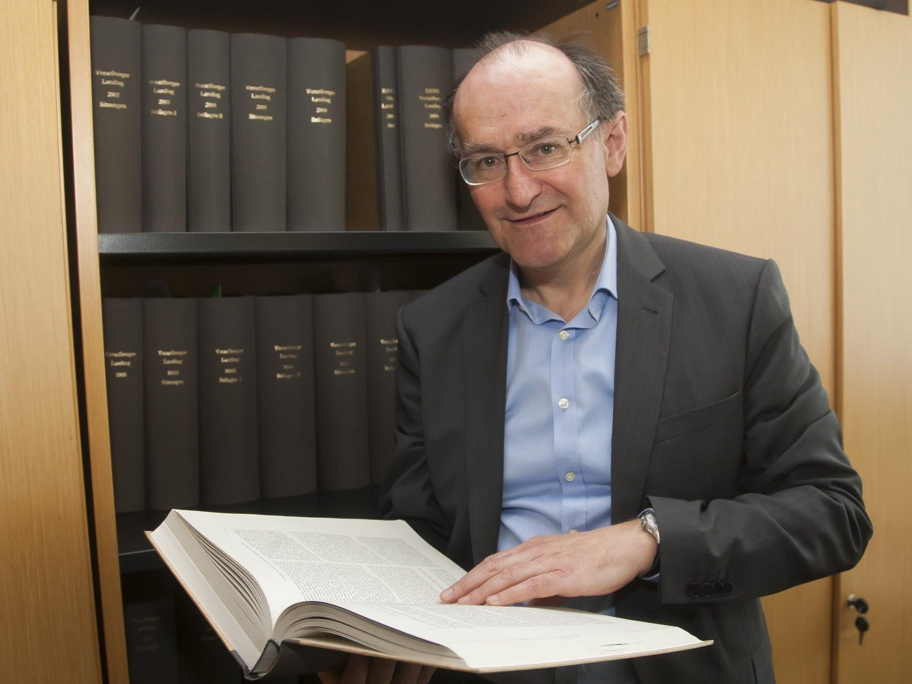 """Peter Bußjäger wird Verfassungsexperte am Liechtenstein-Institut in Bendern: """"Ich widme mich jetzt ganz der Wissenschaft."""""""