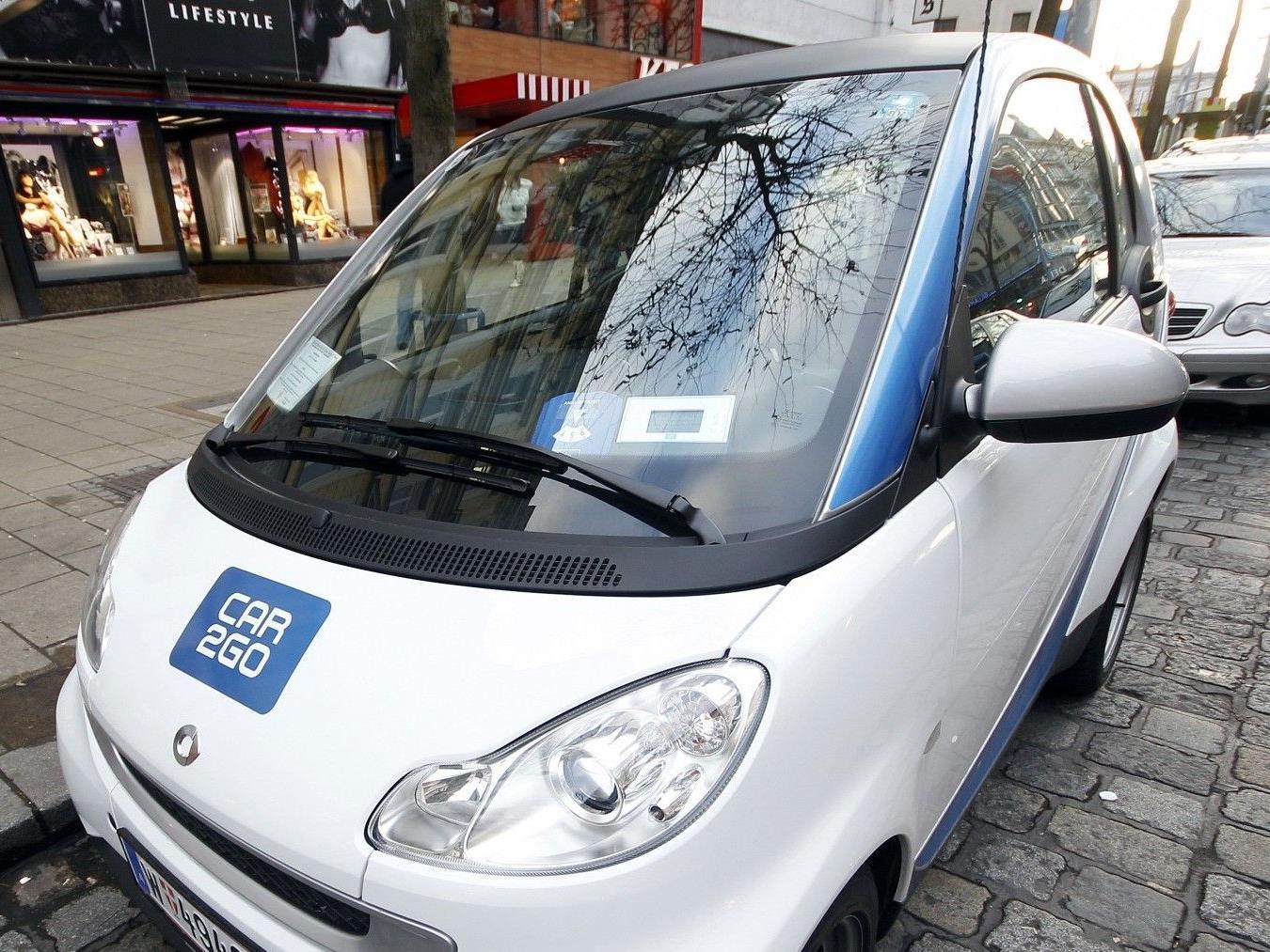 """Die Carsharing-Firma """"Car2Go"""" ist ab August auch am Flughafen Wien vertreten."""