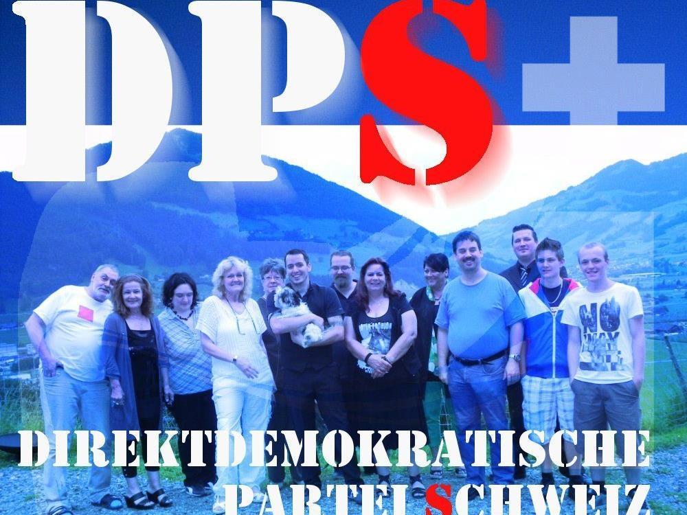 """Rechtspartei DPS - """"Direktdemokratische Partei Schweiz"""" wurde ins Leben gerufen."""