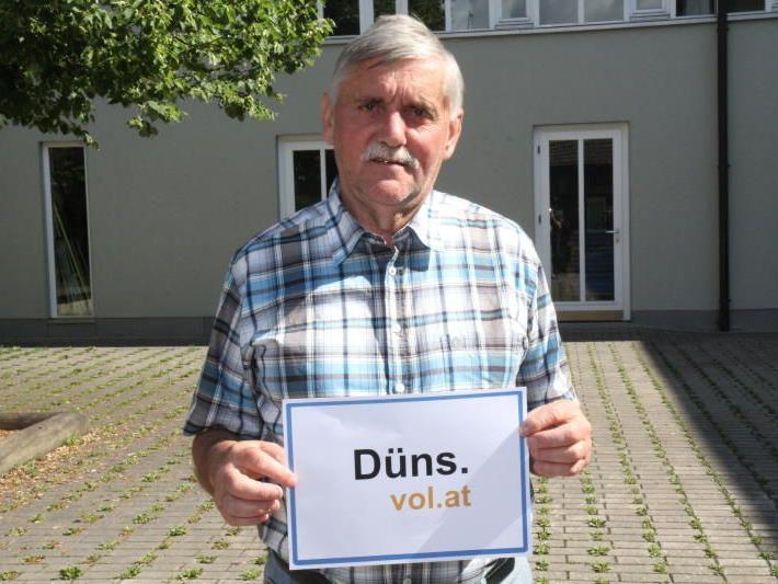 """Ludwig Mähr im Gespräch mit VOL.AT über """"seine"""" Gemeinde."""
