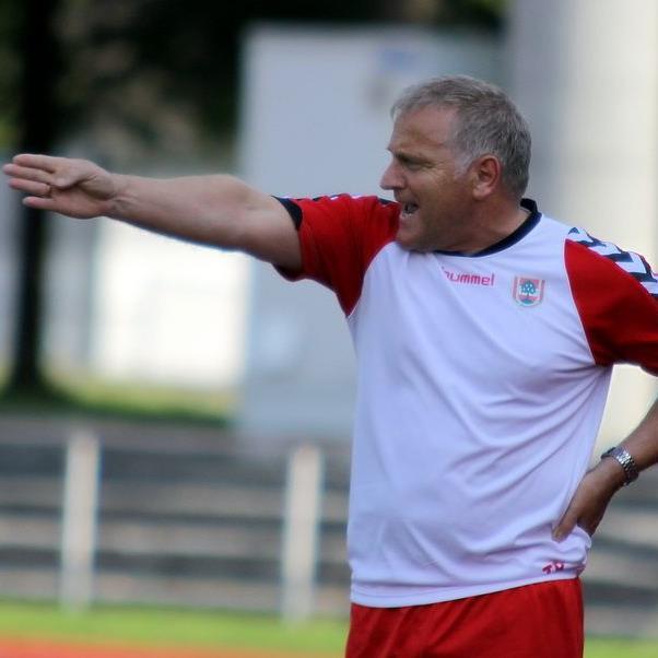 Dornbirn-Trainer Peter Sallmayer hat gegen St. Johann im Pongau drei Punkte eingeplant.