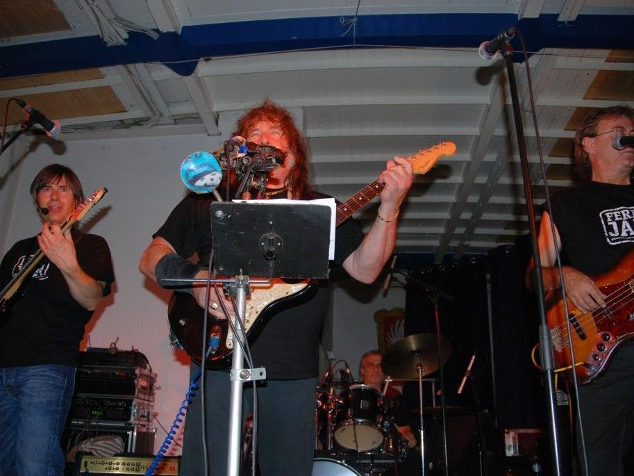 Die Ferry-Jam-Blues-Band.