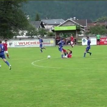 Das Foul der Woche wurde im Spielen zwischen Ludesch und Schruns begangen.