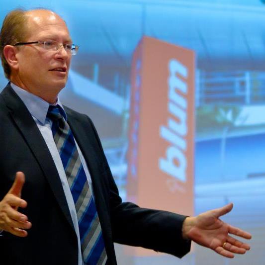 Geschäftsführer Gerhard Blum mit Geschäftsentwicklung zufrieden.