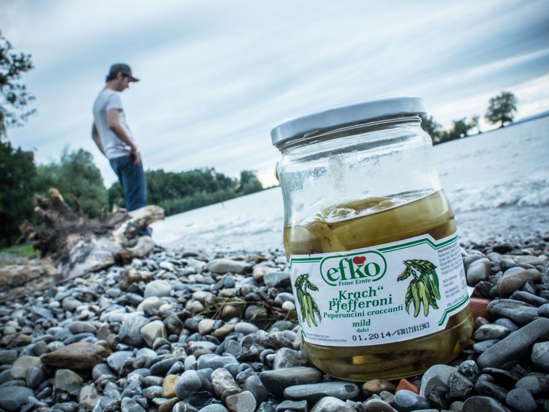 """Ein Glas Pfefferoni war Auslöser für einen beinahe """"ausufernden"""" Streit mit der Bodensee-Security."""