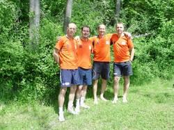 v.l.n.r. Arthur H., Dietmar K., Günther Z., Dietmar M.