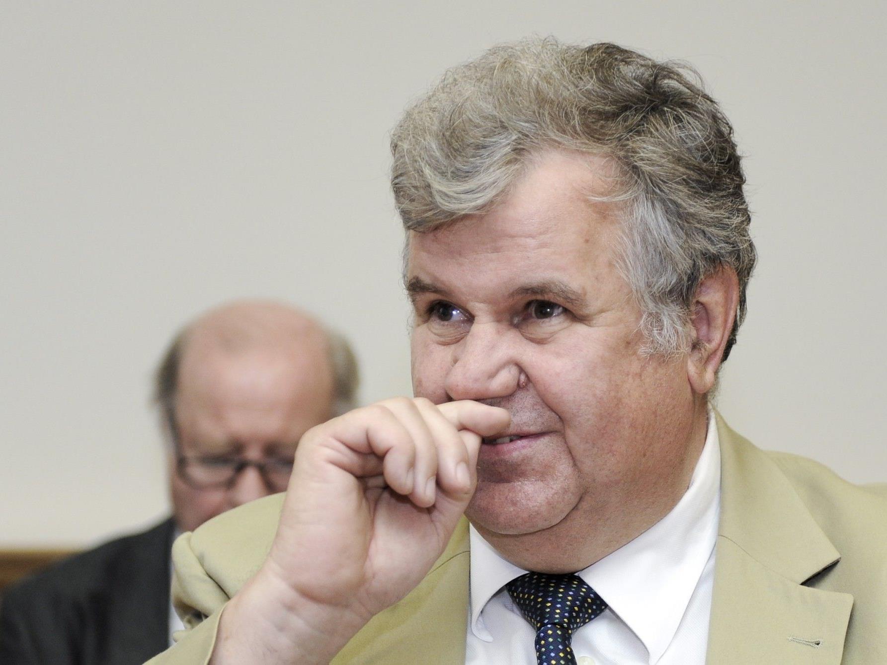 Heinz Jungwirth am Dienstag, 31.07.12, im Landesgericht Wien.