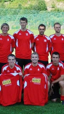 Die erste Kampfmannschaft von RW Rankweil wurde mit einer neuen Trainingsbekleidung ausgestattet.