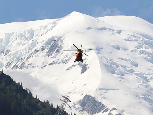 Rettungseinsatz im Mont-Blanc-Massiv.