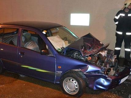 Am Mittwoch ereignete sich im Semmeringtunnel ein schwerer Verkehrsunfall.