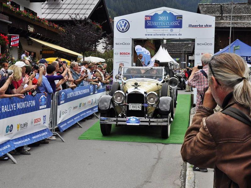 Von 5. bis 8. Juli geht die Silvretta Classic Rallye Montafon über die Bühne