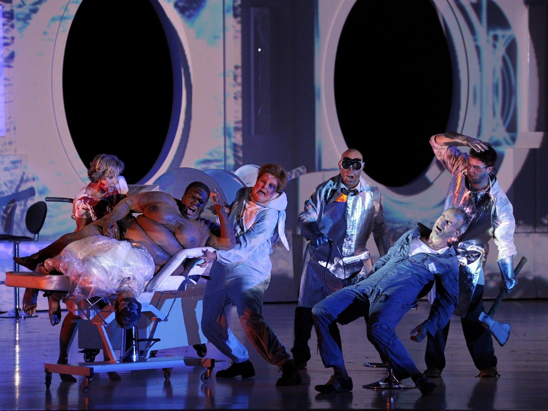 """67. Bregenzer Festspiele eröffnen mit Science-Fiction-Oper """"Solaris""""."""