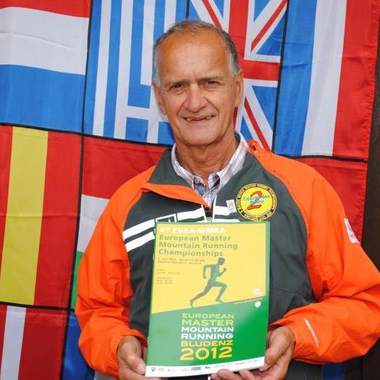 Als Chef des Organisationsteams der Masters-Berglauf-EM in Bludenz liegt eine anstrengende Zeit hinter Hubert Rödhammer.