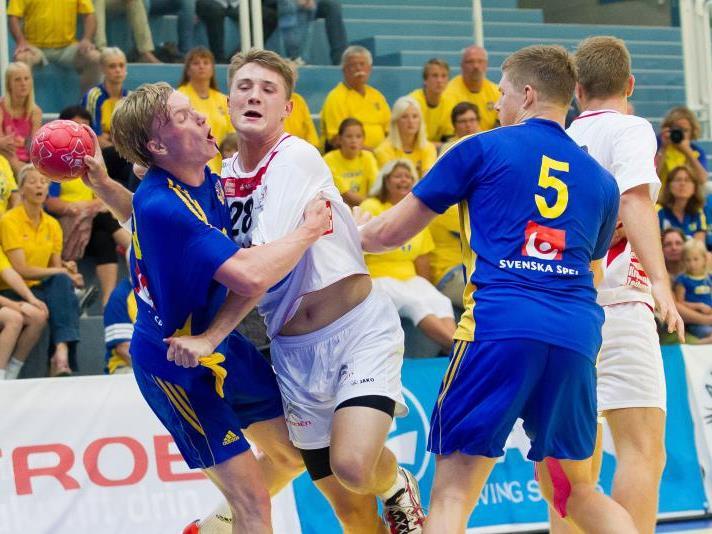 Österreich verliert gegen Schweden, aber darf sich Chancen auf das Halbfinale machen.