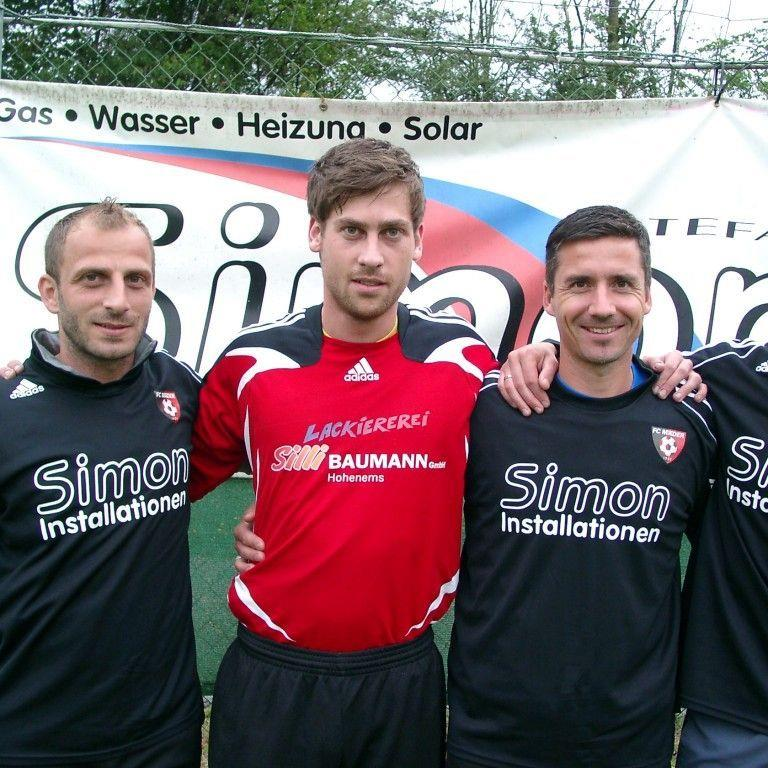 Ein neues Quartett hat Simon Installationen FC Mäder zur Verfügung.