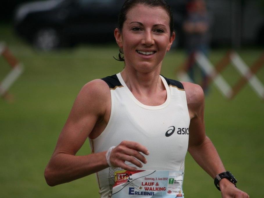 Sabine Reiner am Großglockner sensationell auf dem zweiten Platz.