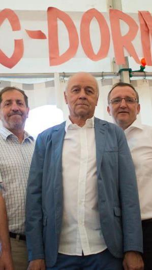 Der wiedergewählte FC Dornbirn Vorstand hat in den nächsten Monaten viel Arbeit.