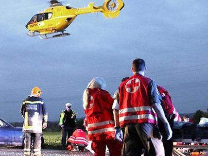 Für den schwerverletzten Autolenker kam jede Hilfe zu spät.