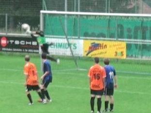 Claudio Wachter im Dress des FC Nenzing