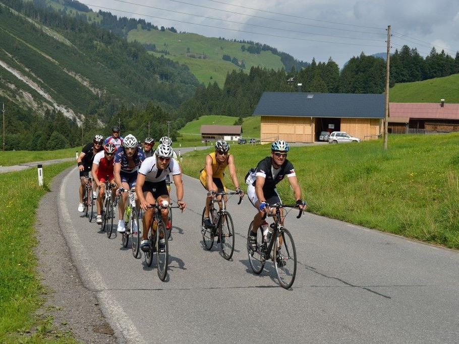 Topbesetzung beim Trans Vorarlberg Triathlon am 26. August von Bregenz nach Lech.