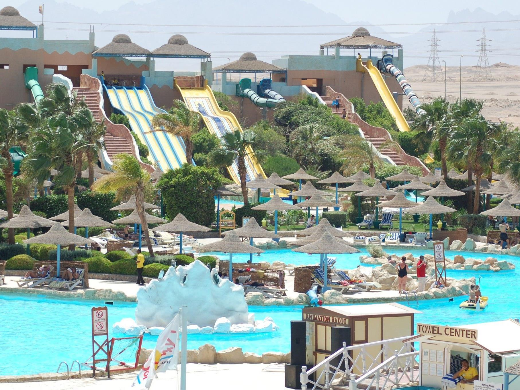 Hotel PrimaSol Titanic Resort & Aquapark**** in Hurghada, Ägypten.