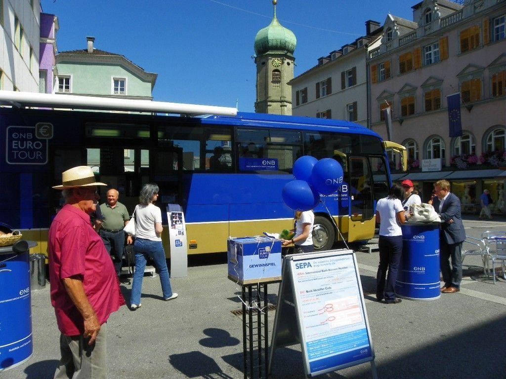 Euro-Bus macht Station in Bregenz