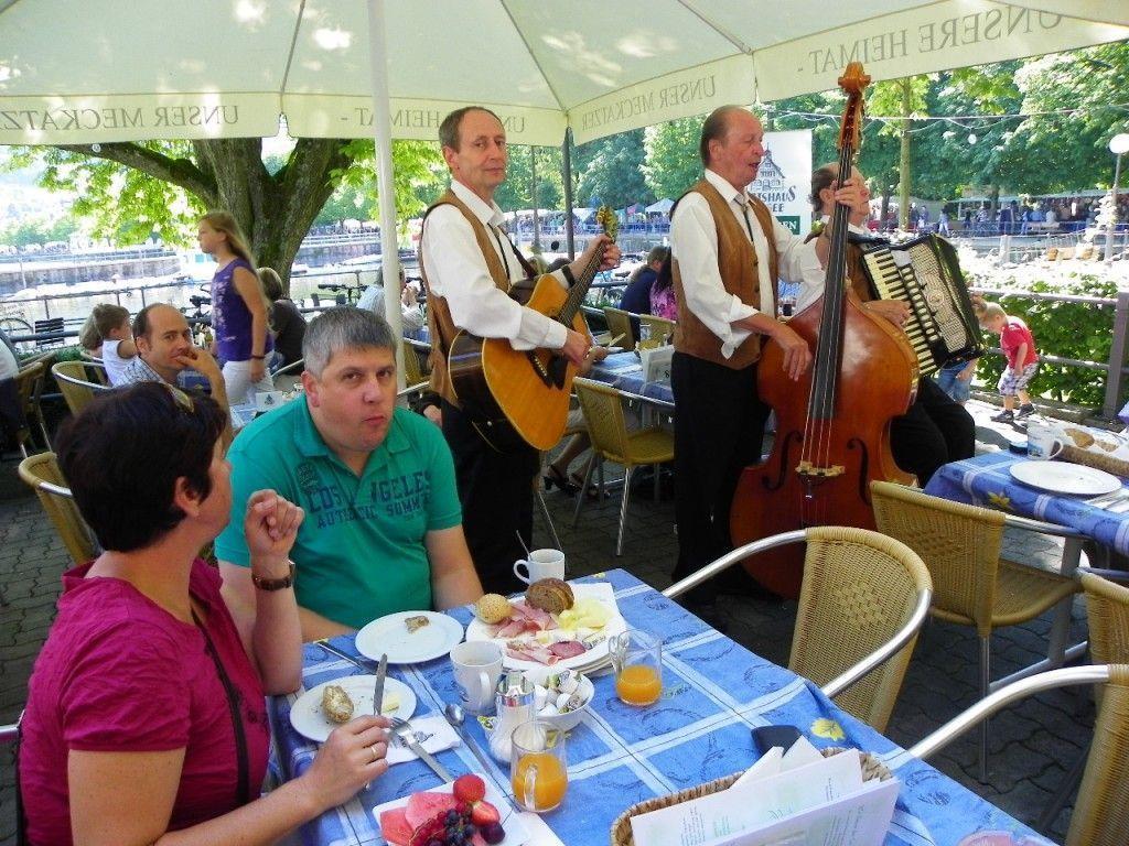 Rudi Keller Trio unterhielt beim Seefrühstück