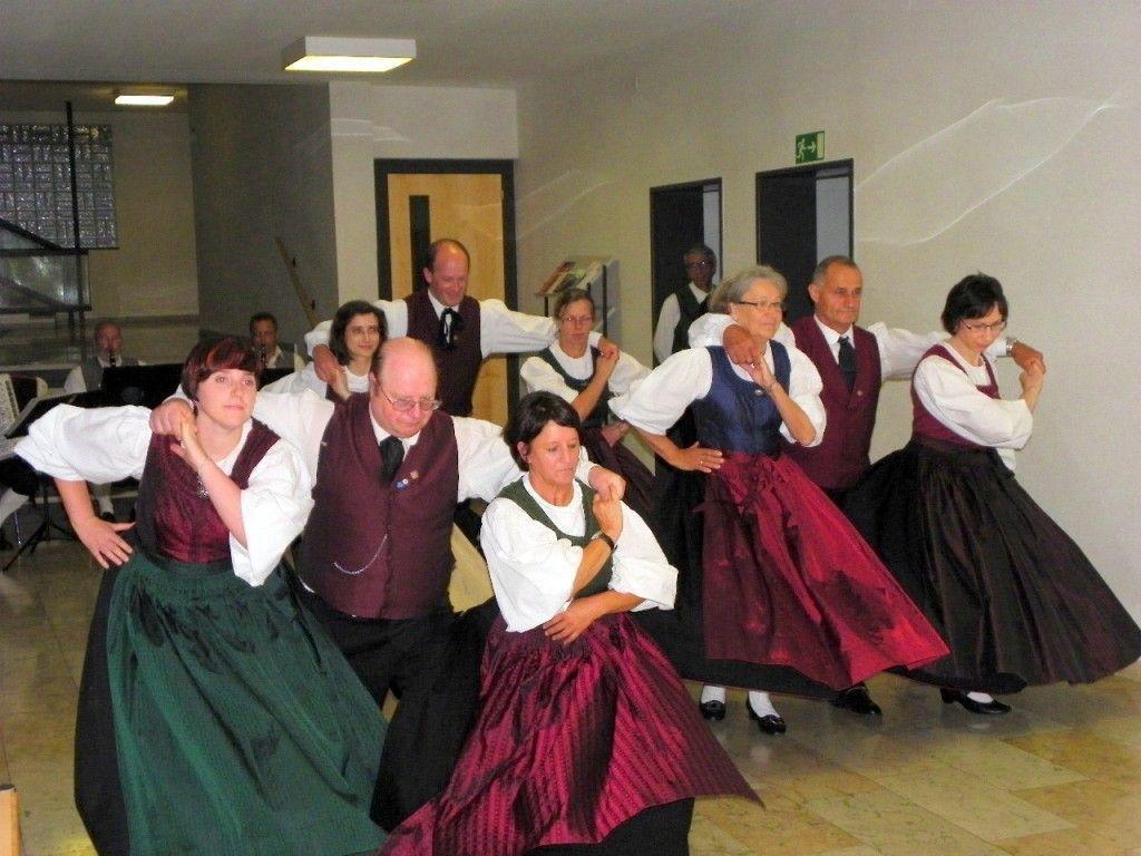 Trachtengruppe Bregenz begeisterte mit Volkstänzen