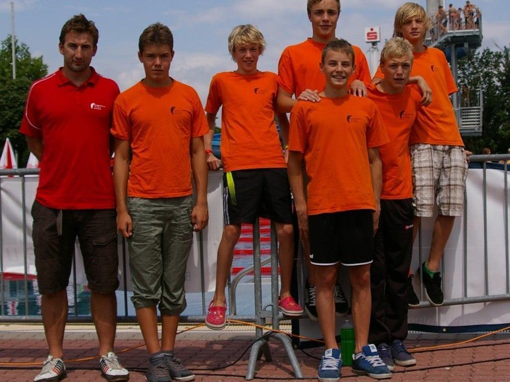 Tolle Leistungen der Bludenzer Nachwuchsschwimmer