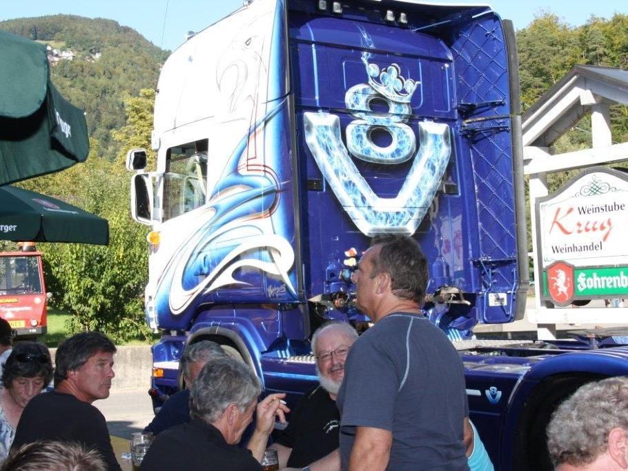 4. Scania Treffen am 1. September in Sulz.