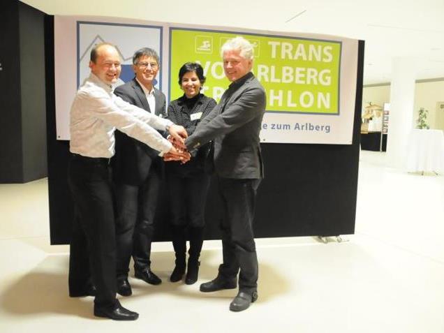 Vier Kämpfer für ein Megaevent, die Wiederauferstehung des Trans Vorarlberg Triathlon.