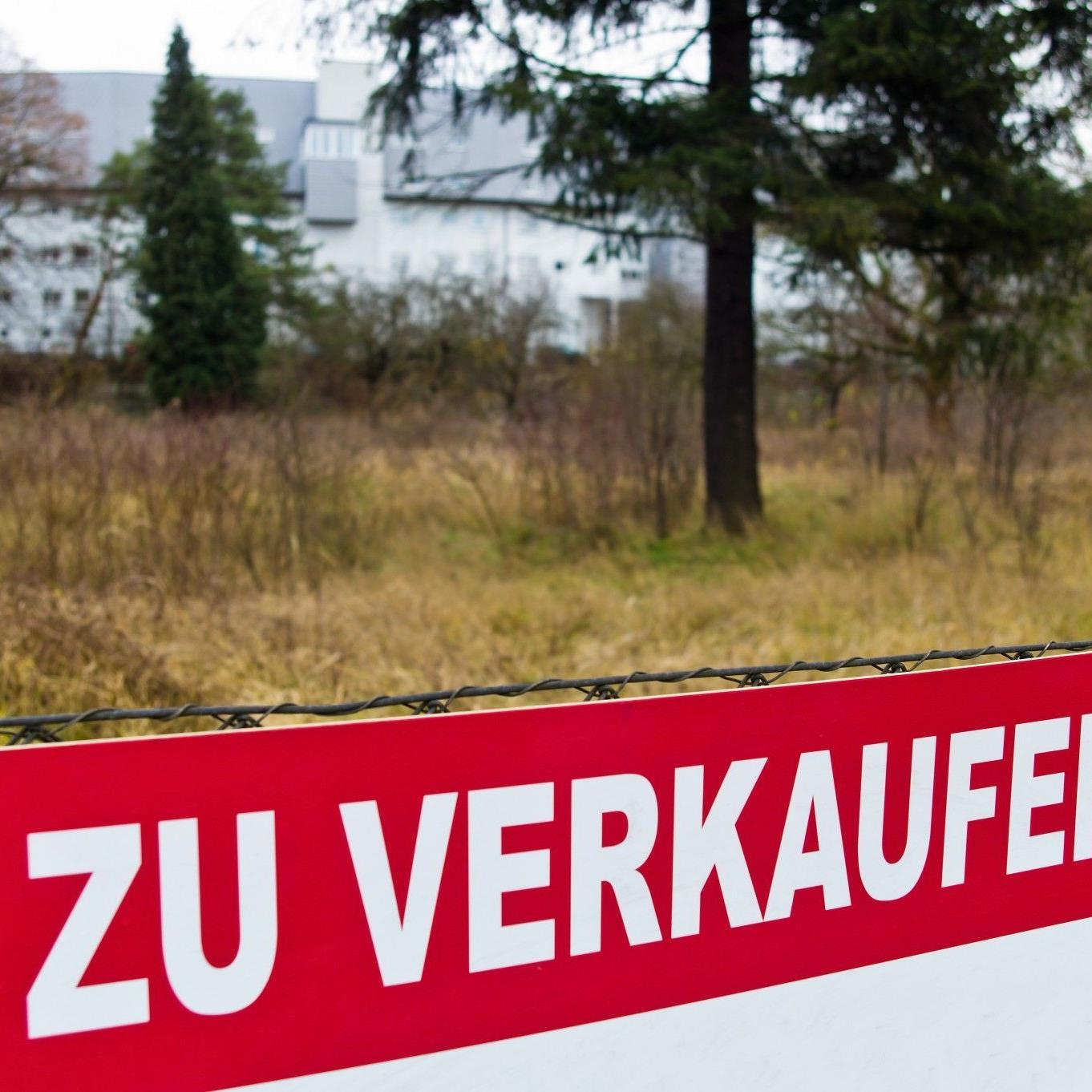 Grundstücksverkäufe boomen.