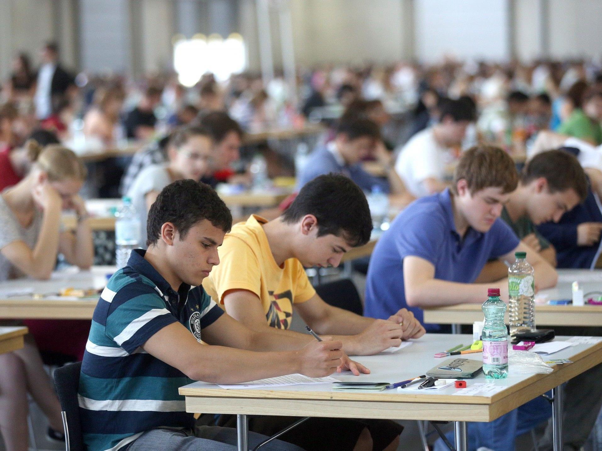Wien: Insgesamt erschienen heuer 4352 Studienbewerber zum Aufnahmetest für das Medizinstudium.