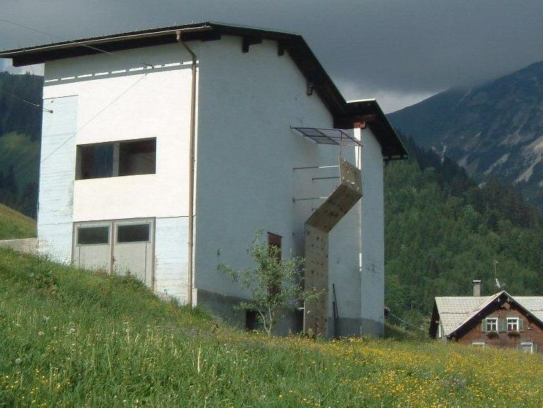 """Hier wäre der Standort für das neue """"Vereinshaus"""" geplant."""