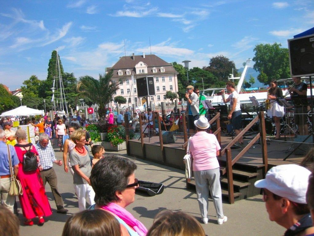 Urlaubsgefühle werden in Lindau wach