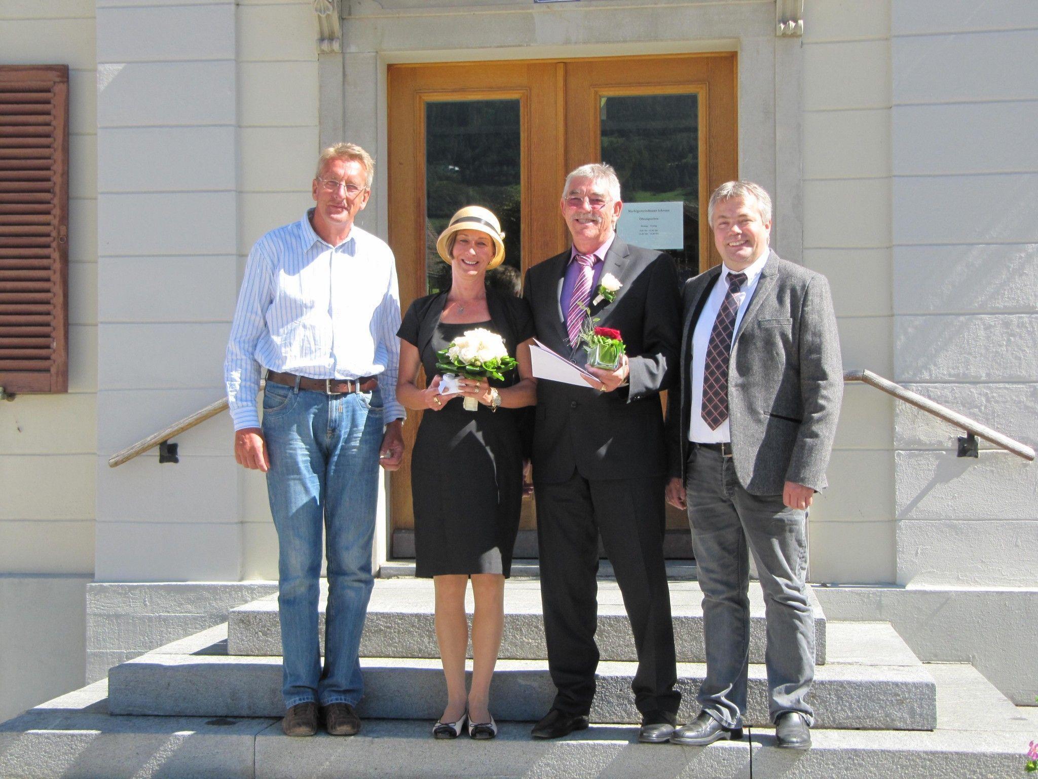 Andrea Feja und Peter Berres haben geheiratet.