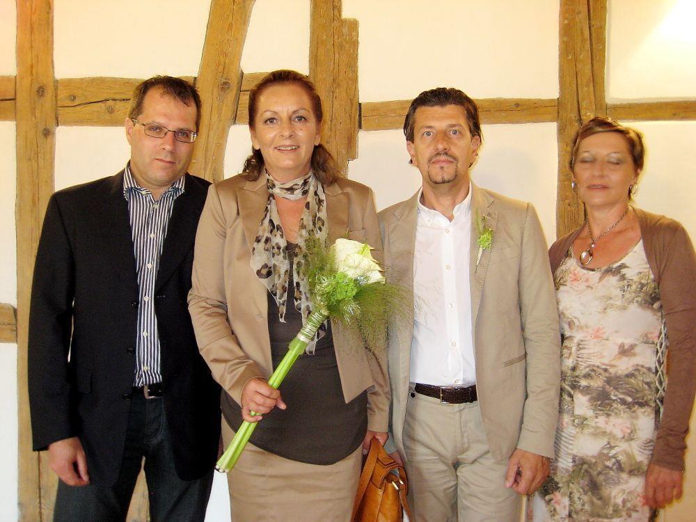 Birgit Murgano und Roberto Crescini haben geheiratet.