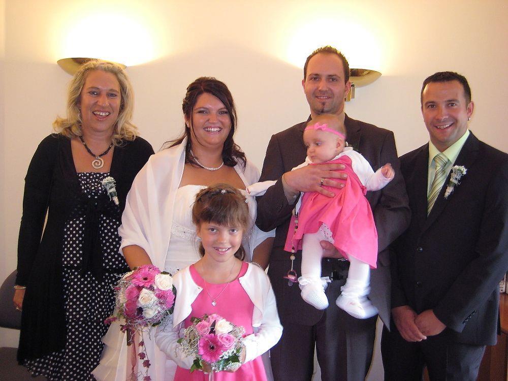 Cindy Nikolussi und Martin Feit haben geheiratet.