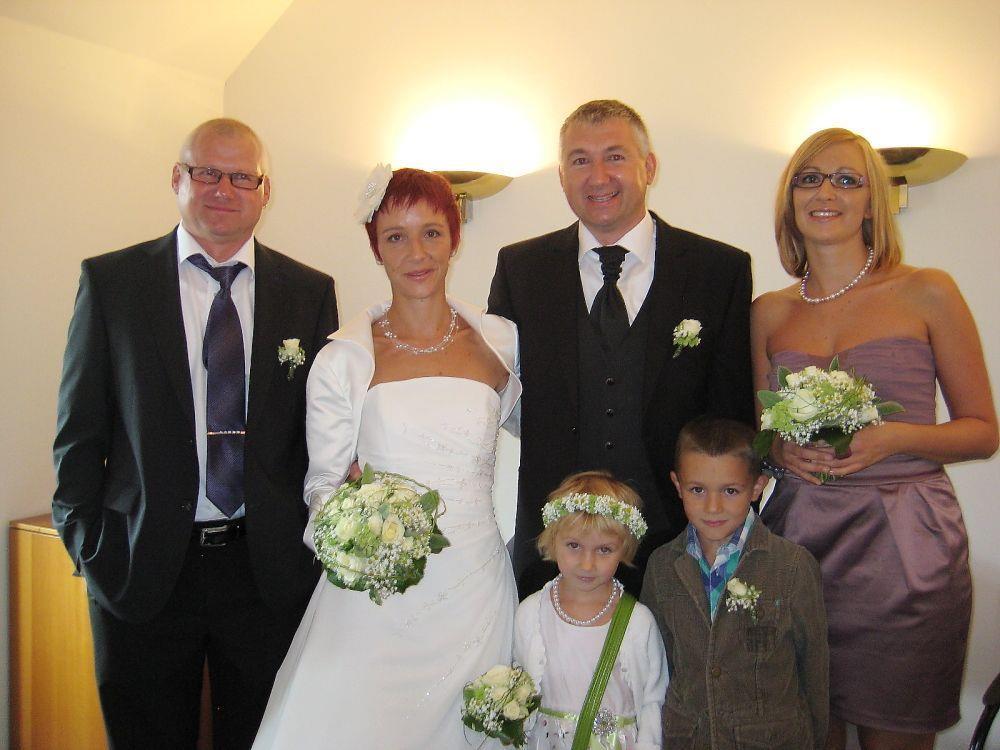 Martina Fleisch und Herbert Turza haben geheiratet.