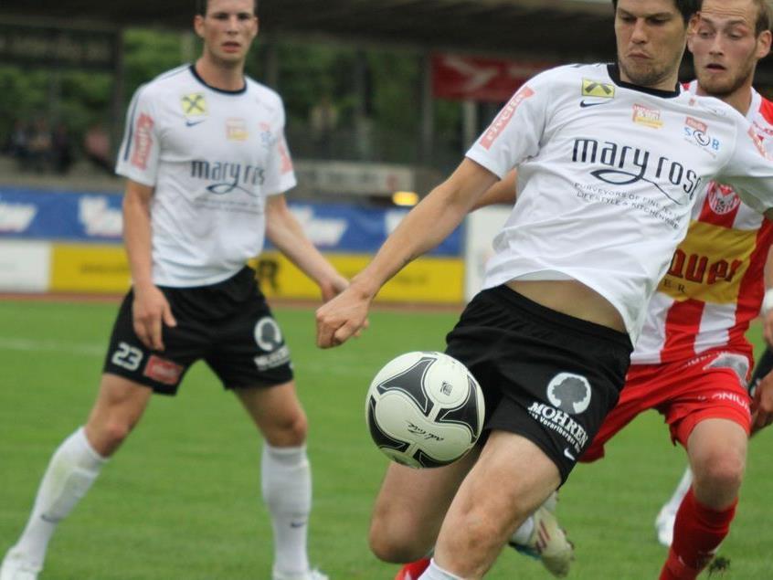 SC Bregenz kann gegen Titelfavorit FC Liefering gewinnen.