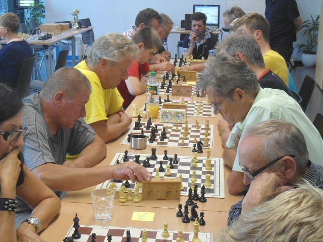 Schachturnier organisiert vom Schachklub Bregenz