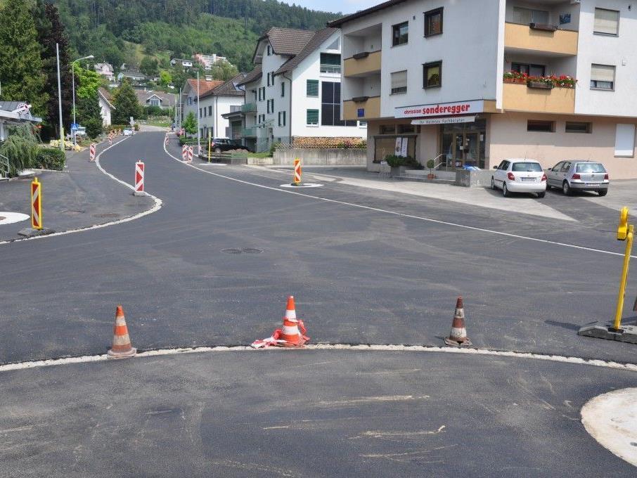 Der Bauabschnitt 3, von der Raiba bis zum Tobel wurde für den Verkehr freigegeben.