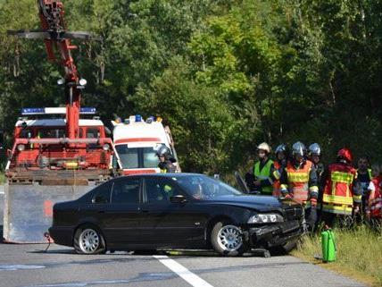 Verkehrsunfall auf der S6 im Bezirk Neunkirchen